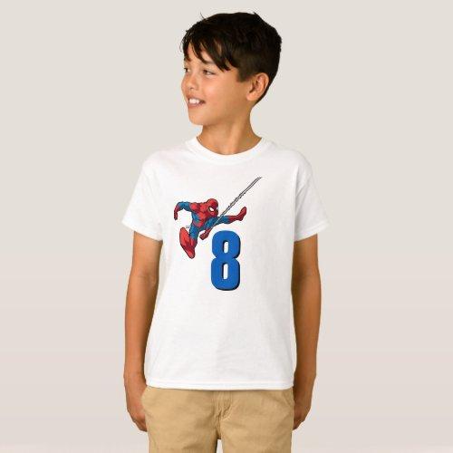 Marvel  Spiderman _ Birthday T_Shirt