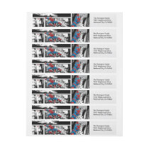 Marvel | Spiderman - Birthday Wrap Around Label