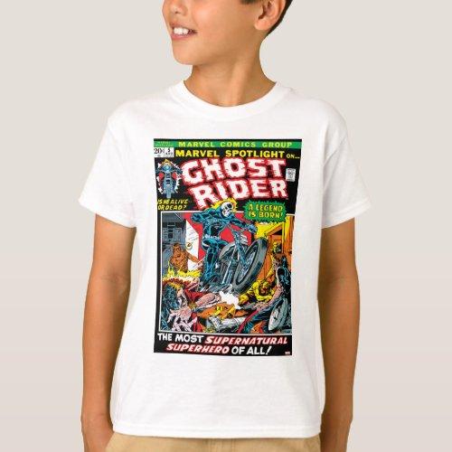 Marvel Spotlight Ghost Rider T_Shirt