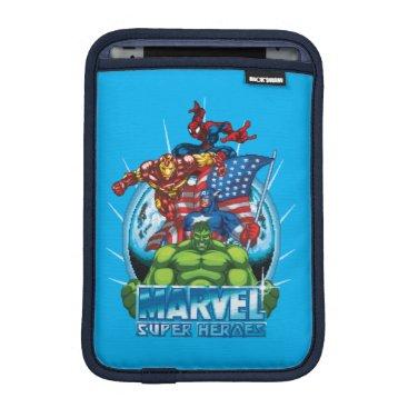 Marvel Super Heroes Character Video Game Sprites iPad Mini Sleeve