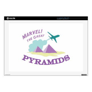 Marvel! The Great Pyramids Skin For Laptop