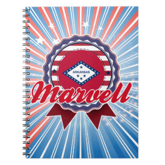 Marvell, AR Spiral Note Book