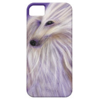 MARVELOUS AFGHAN HOUND BY DIVINA FOR IPHONE 5 iPhone 5 CASE
