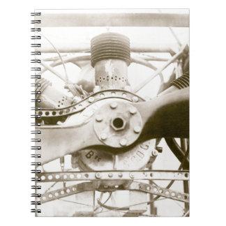 Marvelous Flying Machine Notebook