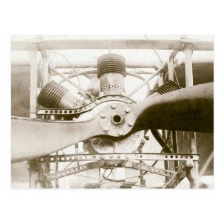 Marvelous Flying Machine Postcard