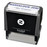 "[ Thumbnail: ""Marvelous Job!"" Acknowledgement Rubber Stamp ]"