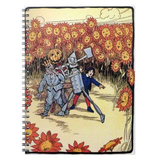 Marvelous Land of Oz Notebook