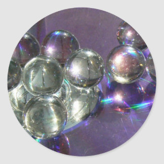 Marvelous Marbles Classic Round Sticker