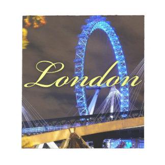 Marvelous Millennium Wheel London Notepads