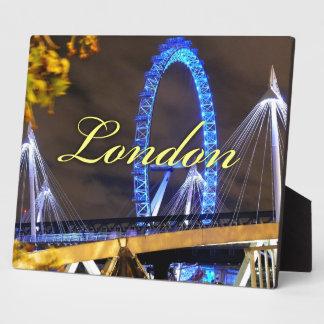 Marvelous Millennium Wheel London Plaque