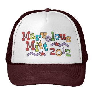 Marvelous Mitt 2012 - Mitt Romney for President Trucker Hat