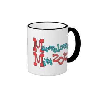 Marvelous Mitt 2012 - Mitt Romney for President Ringer Mug