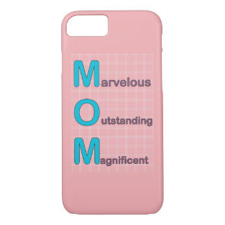 Marvelous Mom Pink iPhone 7 Case