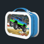 """Marvelous Monster Truck in the Arena Lunch Box<br><div class=""""desc"""">Cute and colorful images designed especially for kids</div>"""