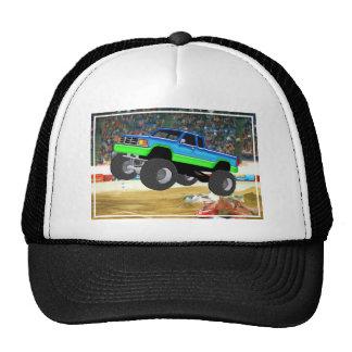 Marvelous Monster Truck in the Arena Trucker Hat