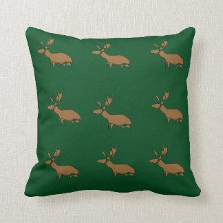 Marvelous Moose Throw Pillow