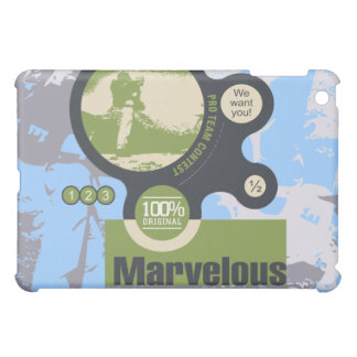 Marvelous Pro Team Backpacking 6 Case For The iPad Mini