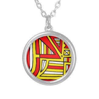 Marvelous Sweet Girly Radiant Round Pendant Necklace