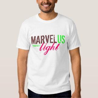 MarvelUS rosa claro/marrón/verde Camisas