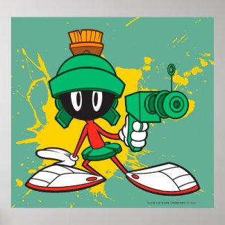 Marvin con el arma impresiones