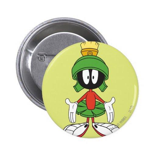 Marvin el Martian confundido Pins