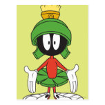 Marvin el Martian confundido Tarjeta Postal