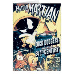 MARVIN EL MARTIAN™, EL DAFFY DUCK™ y el Elmer Tarjeta De Felicitación