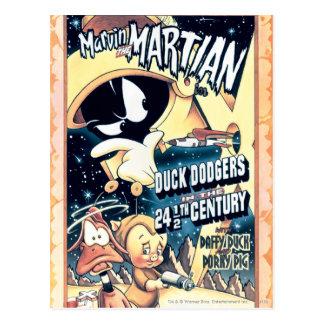 MARVIN EL MARTIAN™, EL DAFFY DUCK™ y el Elmer Tarjetas Postales