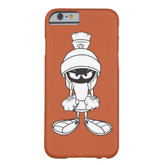 Marvin el Martian enojado en usted Funda De iPhone 6 Barely There