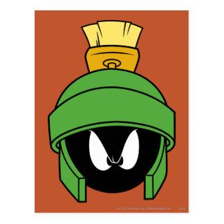 Marvin el Martian enojado Postal