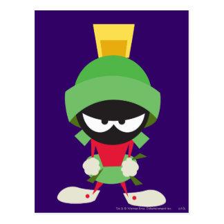 Marvin el Martian listo para atacar Postal