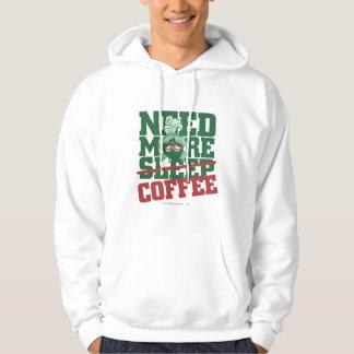 MARVIN el MARTIAN™ - necesite más café Suéter Con Capucha