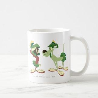 Marvin el Martian y el K-9 2 Tazas De Café