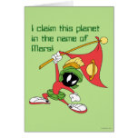 MARVIN el planeta de reivindicación de MARTIAN™ Tarjeta De Felicitación