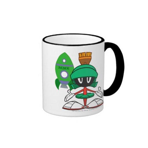 Marvin Front Ringer Coffee Mug