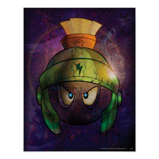 Marvin la batalla marciana endurecida posters