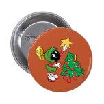 Marvin la estrella que pone marciana en árbol pin