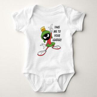 MARVIN la proclamación de MARTIAN™ Body Para Bebé