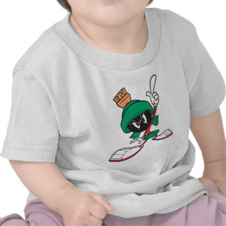 Marvin Pointing Upward T-shirts