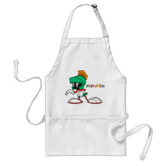 Marvin Sneaking Adult Apron