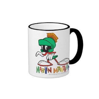 Marvin Sneaking Ringer Mug