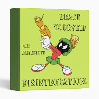 MARVIN THE MARTIAN™ Aiming Laser 3 Ring Binder