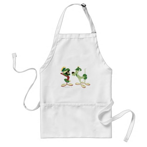 Marvin the Martian and K-9 2 Apron