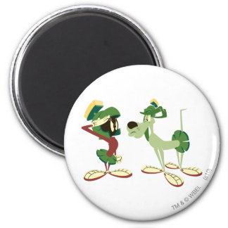 MARVIN THE MARTIAN™ and K-9 2 Magnet