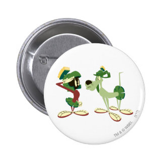 MARVIN THE MARTIAN™ and K-9 2 Pinback Button