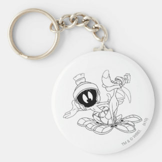 MARVIN THE MARTIAN™ and K-9 Keychain