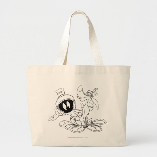 MARVIN THE MARTIAN™ and K-9 Large Tote Bag
