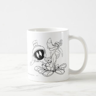 MARVIN THE MARTIAN™ and K-9 Classic White Coffee Mug