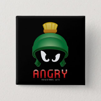 MARVIN THE MARTIAN™ Angry Emoji Button