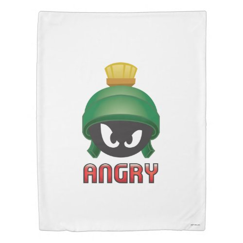 MARVIN THE MARTIAN™ Angry Emoji Duvet Cover